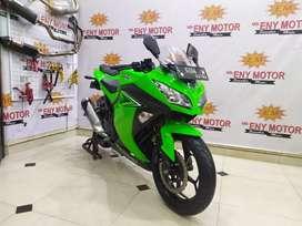 Kawasaki Ninja 250 fi 2017. hijau.