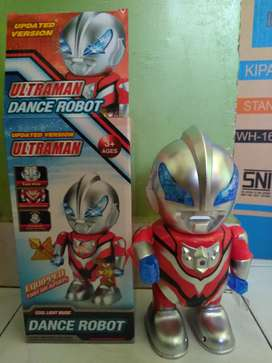 Ultraman dance robot