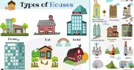 Flates, houses,Farmhouse, Lands Available at any locality