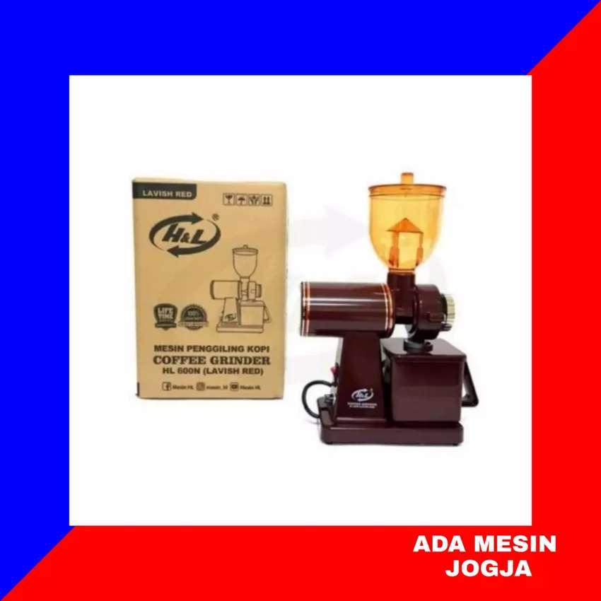 Coffee Grinder Mesin Penggiling Kopi Listrik H&L HL 600 N Red 0