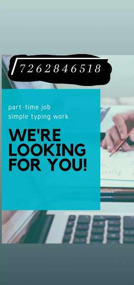 Part & full time & home based Internet work & earn daily job