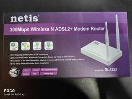 Netis 300mbps wireless n ADSL2+ MODEM Router