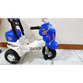Motor anak goes polisi preloved sepeda goes