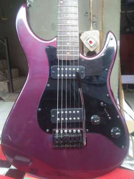 Gitar listrik ESP antik warna favorit