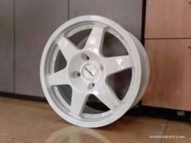 Velg mobil racing murah ring 15x7.0 h4x114.3 et35 cocok untuk Avanza
