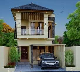 1625 Sq.ft, Spacious 3 Bed Villa For Sale Near Kalmandapam Junction