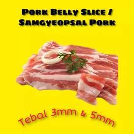 Daging babi samcan spesial