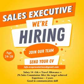 Sales cum marketing officer job