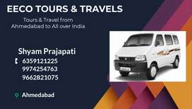 Eeco car Tours & Travels 8.5 - 9 Rs Km