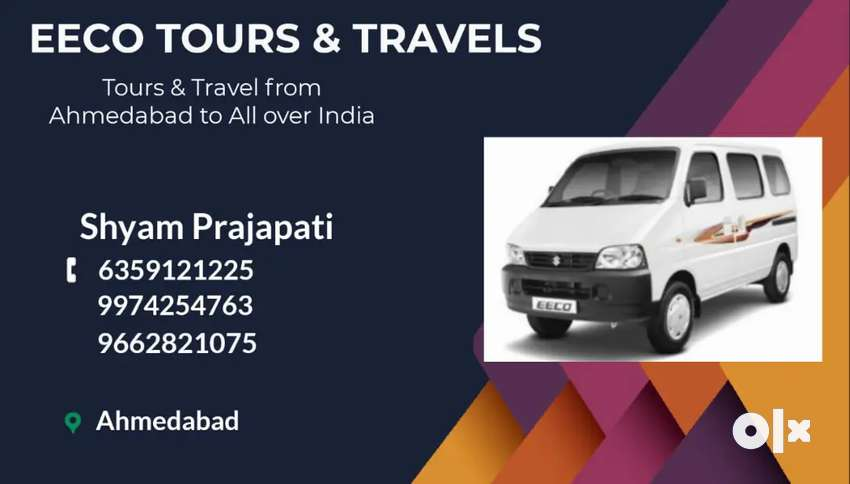 Eeco car Tours & Travels 8.5 - 9 Rs Km 0