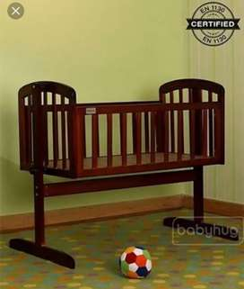 Baby Hug, premium wooden swing bed