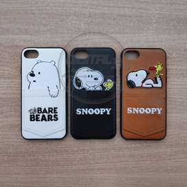Case Karakter Snoopy iPhone 7 8 Casing Snoopy iPhone 7 8