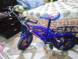 Almost new kids bicycle only few months used