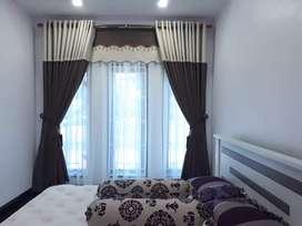 Gorden - Vertical Blind Lantai Kayu Wallpaper AL Shafeeza Decor Medan