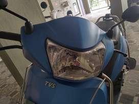 New TVS Jupiter Matte Blue BSIV