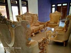 Kursi sofa tamu kayu jati/sofa Bellagio