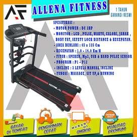 Alat Fitness Treadmill Elektrik TL-618 Manual Incline Total Fitnes