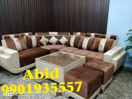 Corner sofa set awesome made with 3 years warranty call