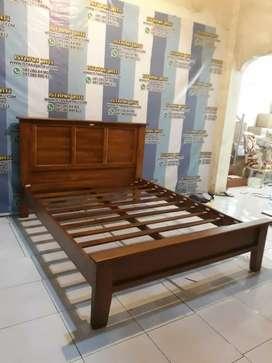tempat tidur minimalis jati indah 82