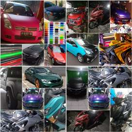 Stiker Polet Sticker Wrapping Motor Mobil Bandung