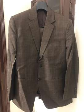 A well stiched suit