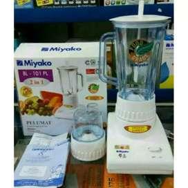 Blender Miyako BL 101 PL-Pelumat-2in1-basah kering-1L-wadah mika-kuat