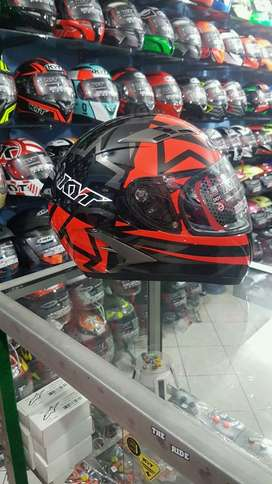 KYT Falcon Faster Red
