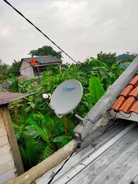 Antena Parabola mini Garmedia Kvision Channel lengkap & tanpa iuran