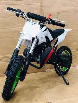 New 50cc pocket dirt bike for children's