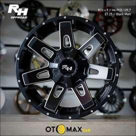 Velg Mobil RH Ring 20 Black Matt