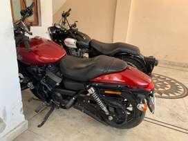 Harley street 750 in mint condition brand new battery