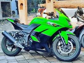 Ninja 250 karbu ori th 2011 cash/kredit rjm