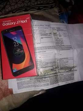 Samsung j7 nxt new single owner bill box