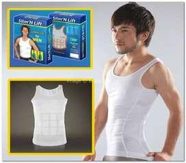 Slim 'N Lift Slimming Shirt for Men / Kaos Korset Pelangsing Pria