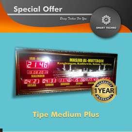 Best Price Jam Sholat Masjid Tipe Medium Plus Istimewa _abs_