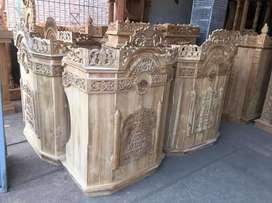 mimbar masjid musola jati harga terjangkau