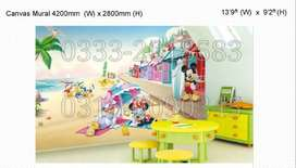 3d Mural pictures KOREA made