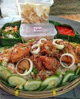 Nasi Biryani / Nasi Kebuli Ayam Goreng / Bakar Sambal Nanas