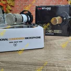 MN Mic Mikrophone Microphone Condeser Bm-800 bm 800 Taffware
