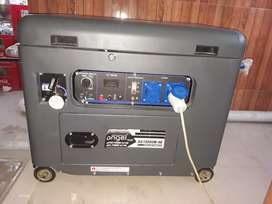 New petrol and gas generator