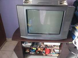 New look tv stand & sony bravia tv&sony dvd player