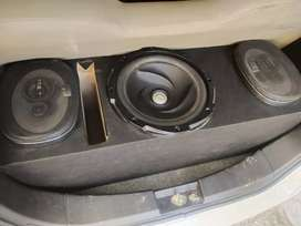 Kenwood sound system 718 original speakers
