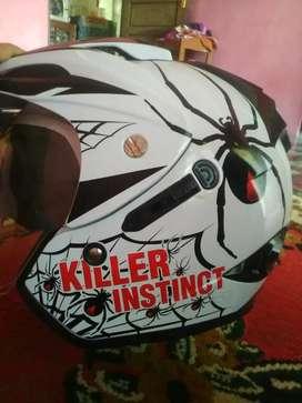 Helm double visitor jarang pakai