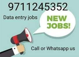 Providing Jobs for Data Entry