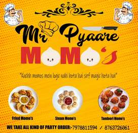 Need a cook for MOMO business