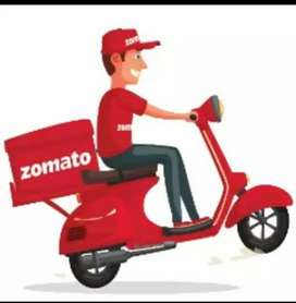 New zomoto food delivery jobs IMMEDIATELY joining