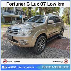 Fortuner 2.7 G Lux at 2007 facelift istimewa low km