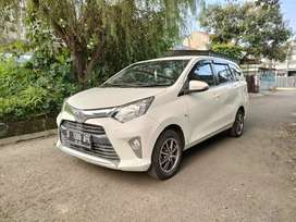 Toyota Calya type G 1,2 AT 2017 white ToP
