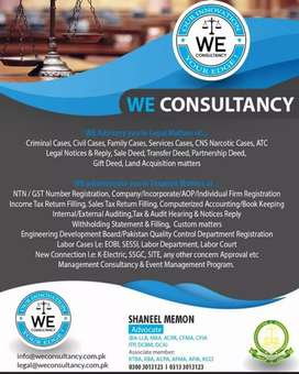 WE CONSULTANCY (Legal Matters Advisory Services)