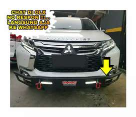 Tanduk towing pengaman bemper depan all new pajero / fortuner VRZ